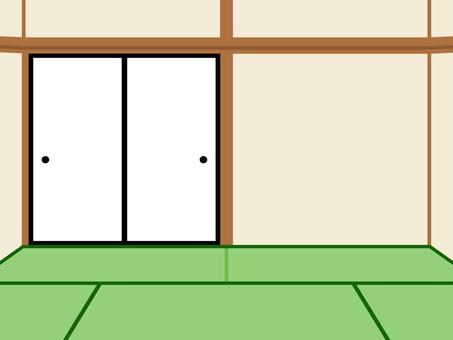簡単な家 和室  背景