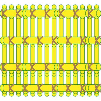 Bamboo grid