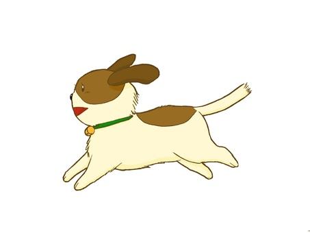 Running dog 01