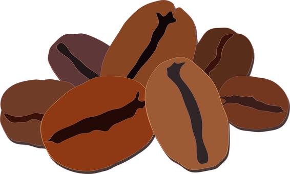 咖啡豆咖啡豆圖圖標圖片背景