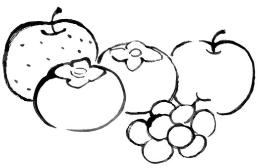 秋の果物1