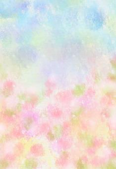 ألوان مائية، تصوير زيتي، الخلفية