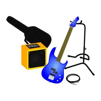 Guitar equipment set 3