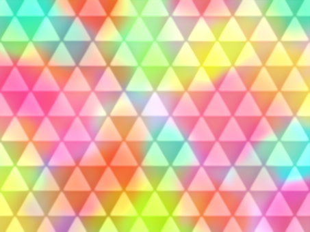 Colorful triangle wallpaper