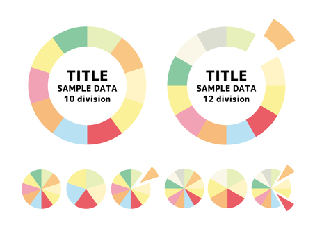 Colorful circle Data image
