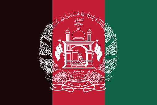 Afghanistan flag (without name)