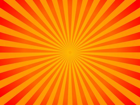 Red and orange radiation