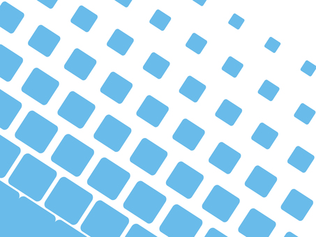 Dot Gradient Square Blue