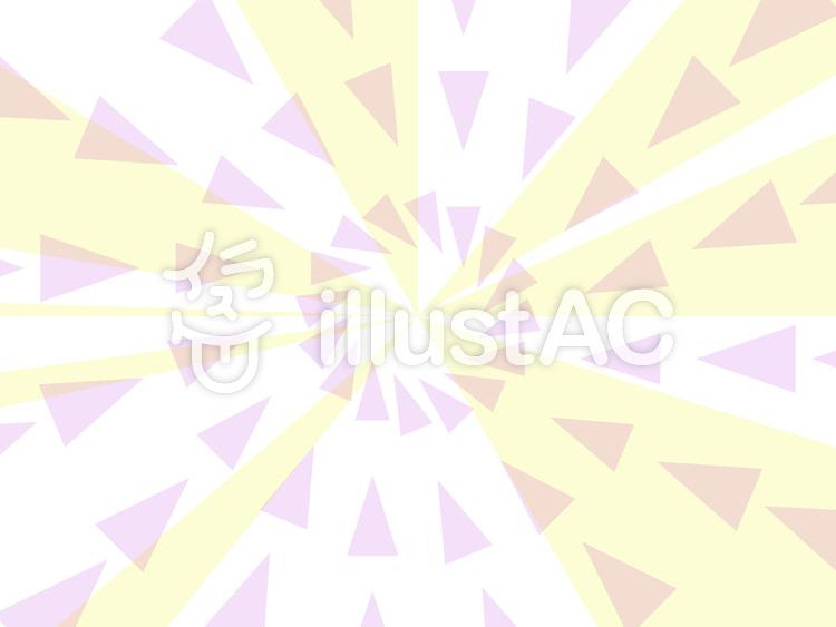 三角形を使った放射状の背景1c
