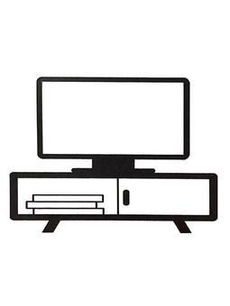 실루엣 텔레비전