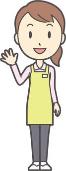 Home helper women-268-whole body
