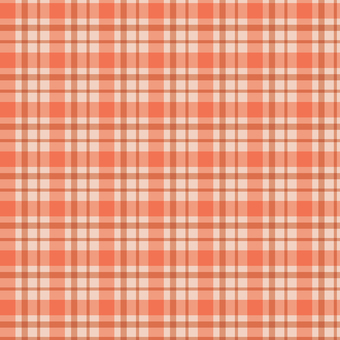 Orange's plaid