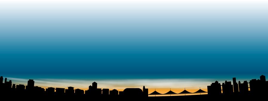 도시의 야경 3001