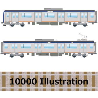 Commuter train 10000 series Sotetsu line