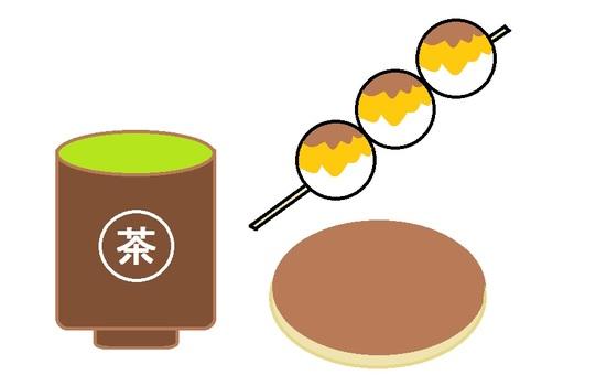 Japanese sweets asahi