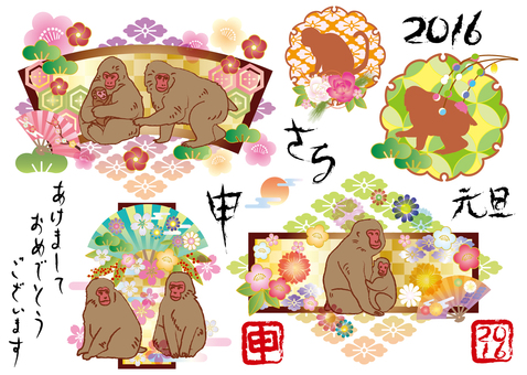 Monkey 2016 Material
