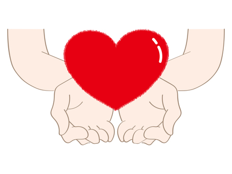 Heart and hand c