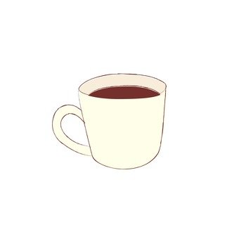 White cup _ coffee