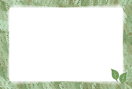 Leaf frame (green series)