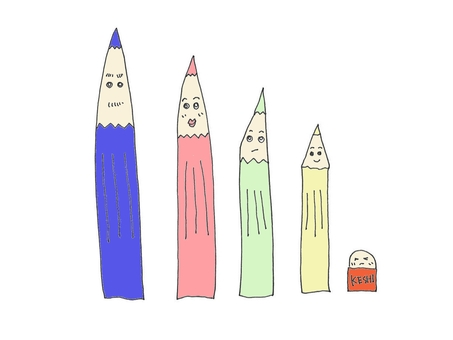Colorful Pencil family