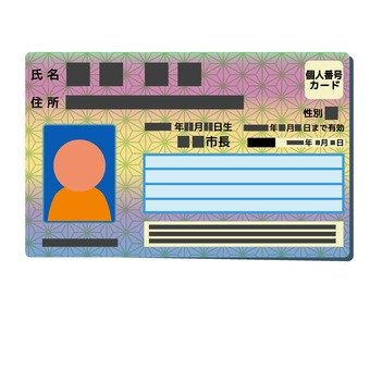Personal number card