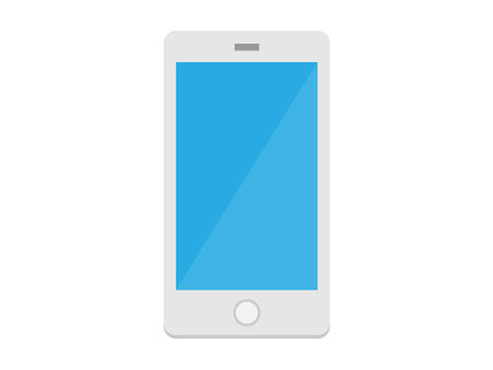 Smartphone 【white】