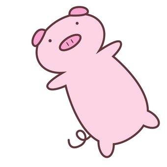 돼지 쿠션