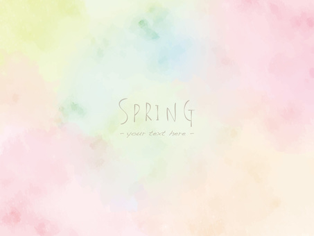 Spring color frame ver05