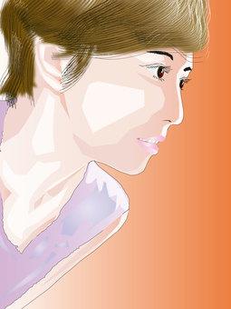Women's profile profile series 17