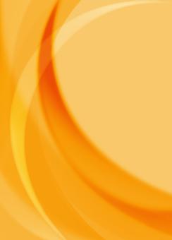 Orange curve line