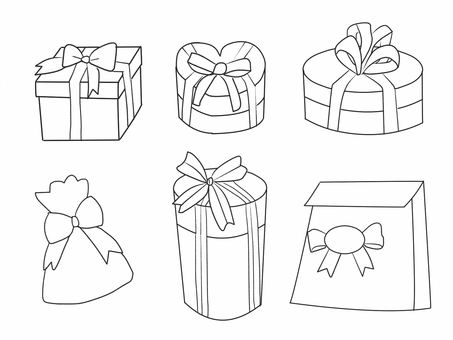 Present line drawing
