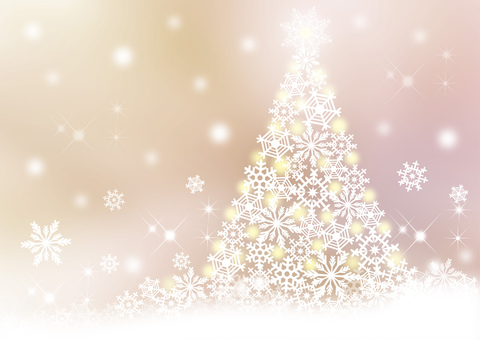 Christmas tree _ pale background
