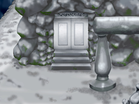 Illusion background 17: Entrance of the ruins