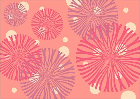 Modern flower texture