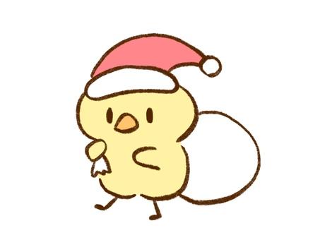 ひよこ【サンタクロース】