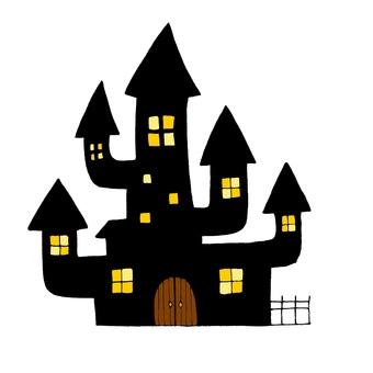 ハロウィンお城