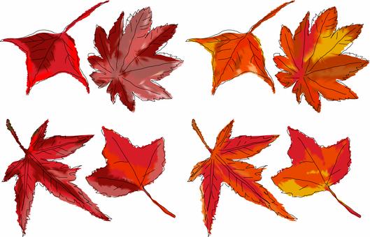 Autumn Leaves Set 1