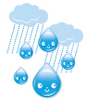 Rain _ smile character