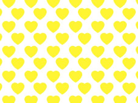 Yellow Heart Wallpaper