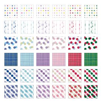 Various patterns Pattern 3 Winter