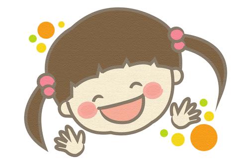 Female smiley girl