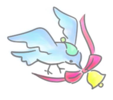 벨을 더한 작은 새