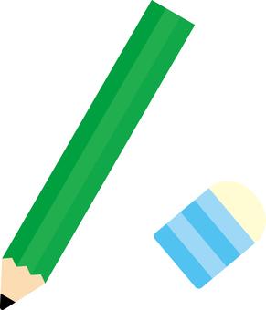 Pencil and Eraser