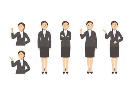 Business woman - set 2