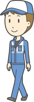 Male mechanic-358-whole body