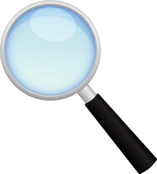 Magnifying glass _ solid