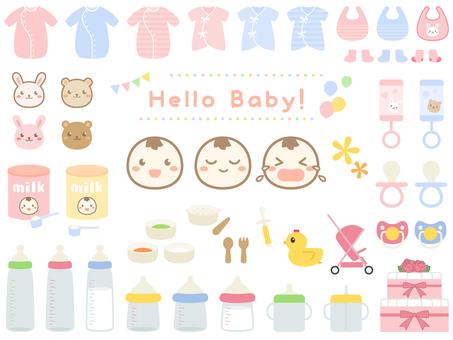 아기 용품 세트