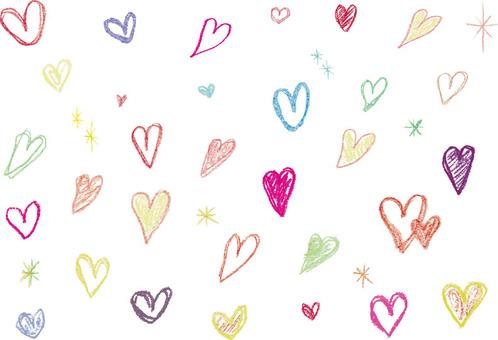 Handwriting - Crayon - Heart