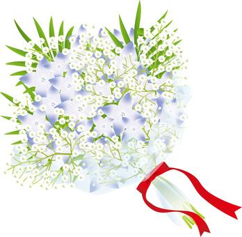 Flower & blurred flower bouquet 5
