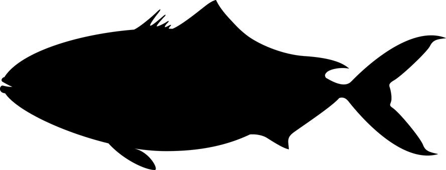 Fish Silhouette Buri